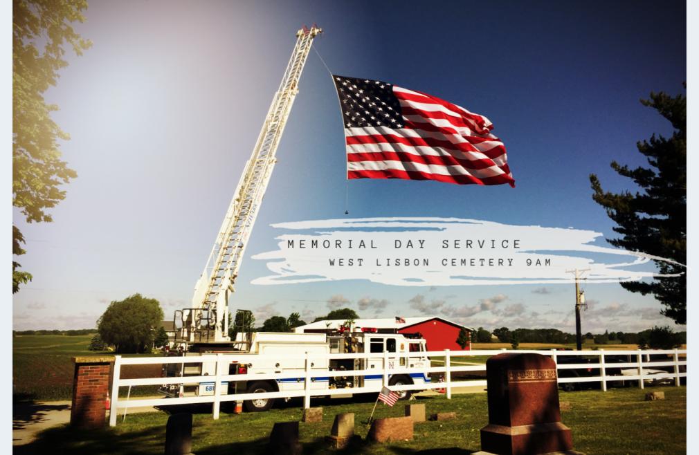 Memorial Day Cemetery Service
