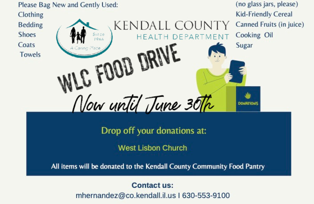 Kendall County Community Food Drive